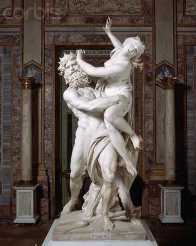 Gian Lorenzo Bernini's The Rape of Proserpina - High End Interior Design