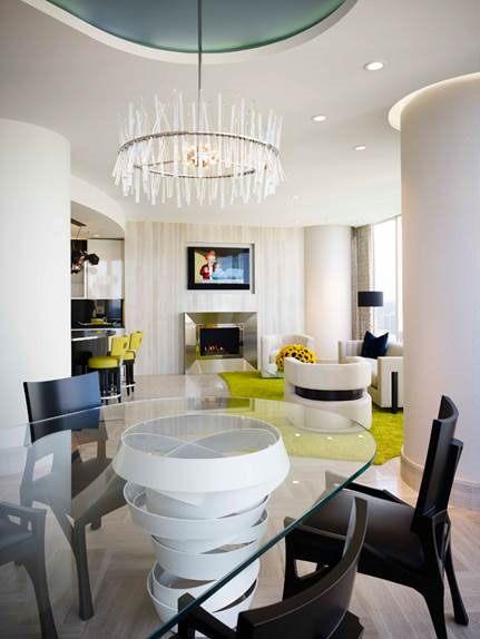 John Robert Wiltgen Design, Inc inside Trump Tower Chicago - Chicago Interior Design